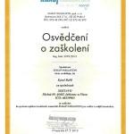 Certifikát Knauf